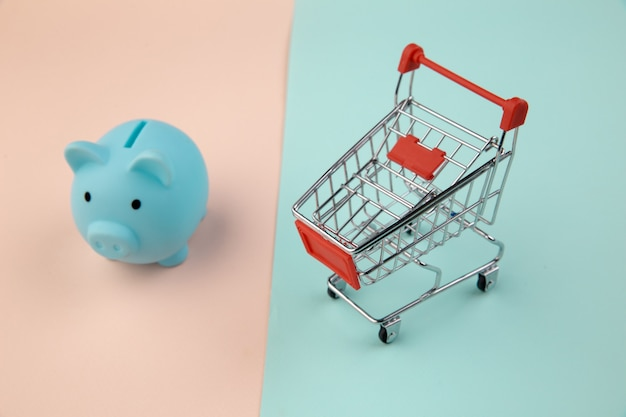 Shopping concept, economy, savings