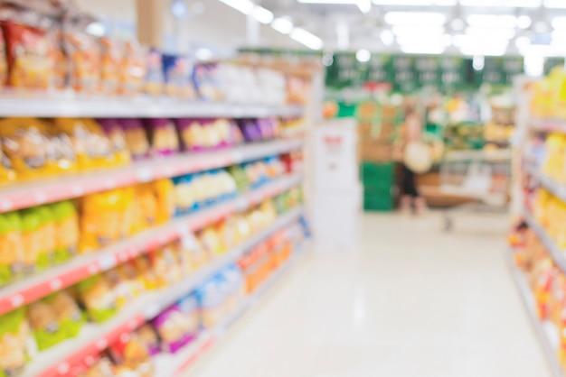 Shopping in supermarket in quarantine