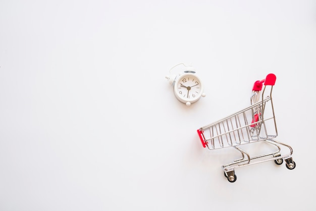 Shopping trolley with little snooze