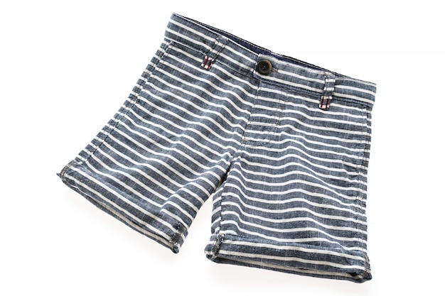 Short pants for clothing