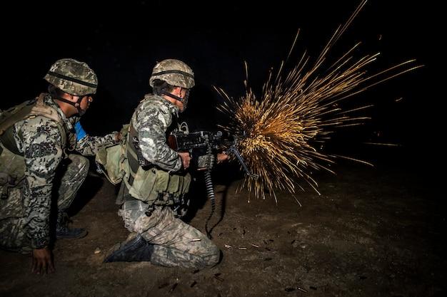 Обучение стрельбе из огнестрельного оружия в военной кампании