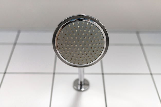 Shower head. water supply is turned off