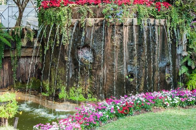 Shower waterfall
