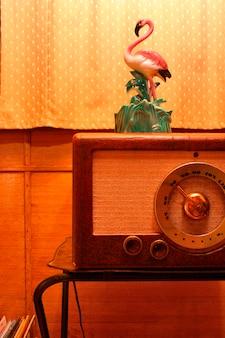 Showpiece on radio in house