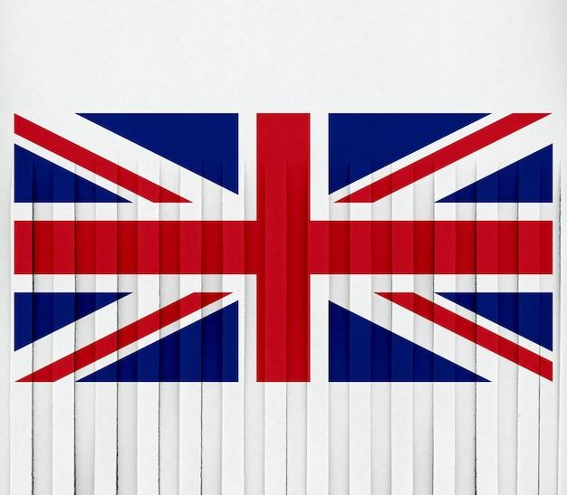 영국의 파쇄 된 깃발
