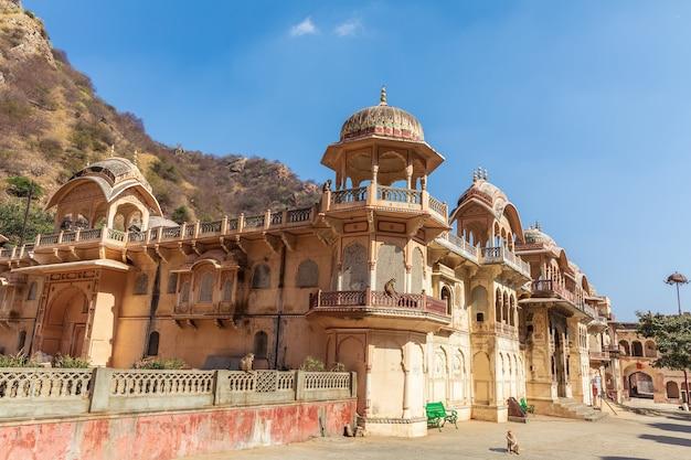 Shri sitaram ji temple in jaipur area, india.