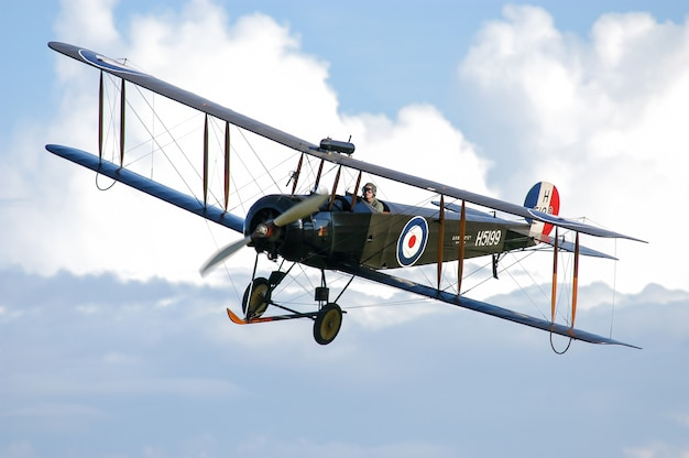 Коллекция shuttleworth avro 504k