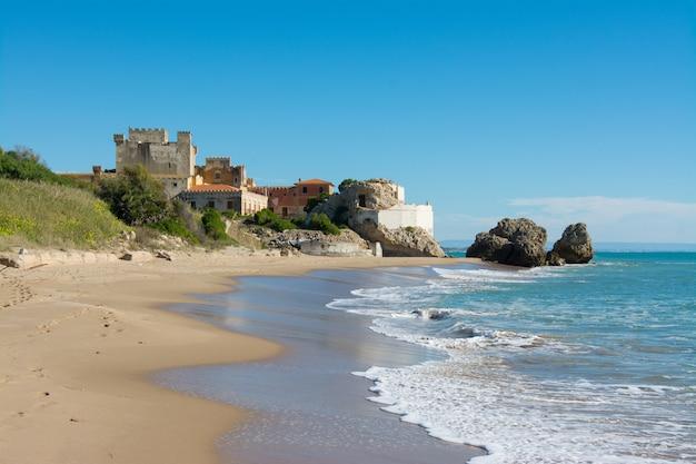 Sicilian castles. falconara castle, sutera