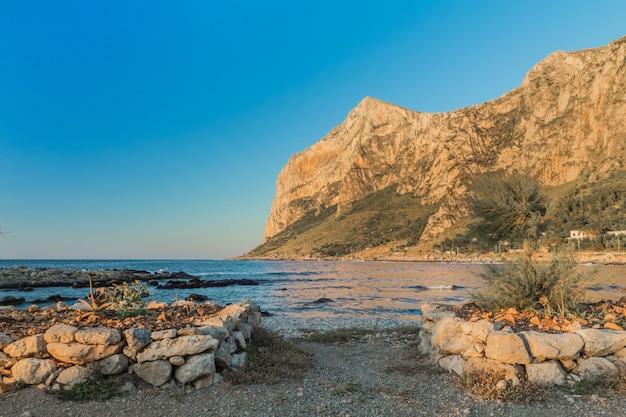 シチリア海岸、イタリア