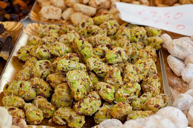 Sicilian paste di mandorle
