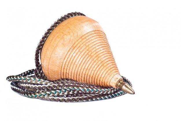 Sicilian wood spinning handmade
