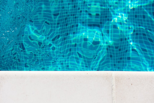 Side of the pool