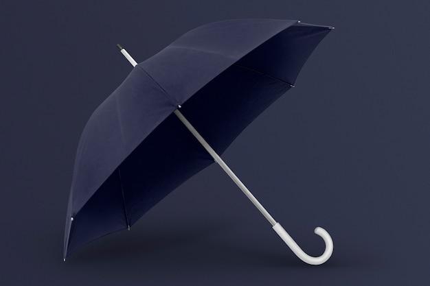 우산 아시아 여자의 모습