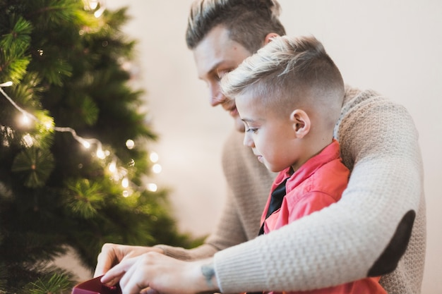 아버지와 아들여 현재의 모습
