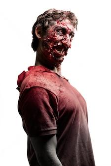 Sideways zombie