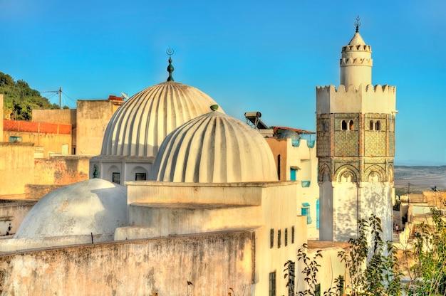 Sidi bou makhlouf mosque at el kef in tunisia. north africa