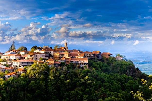 Сигнаги или город сигнаги в грузии