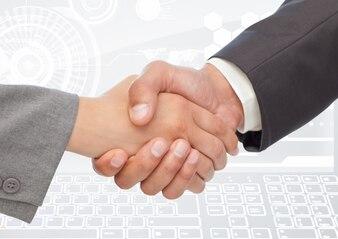 Sign agreement professional interface joy