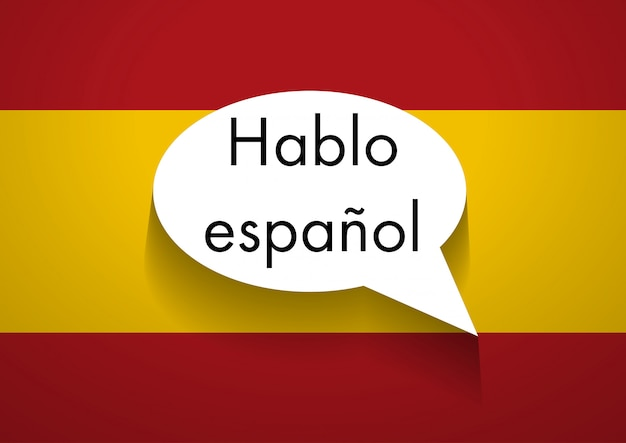 Sign speaking spanish