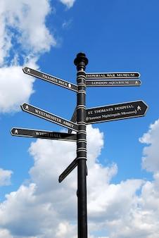 Signpost of london