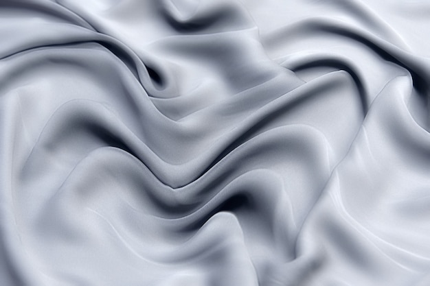 Silk or cotton fabric tissue. dark gray or black color. texture, background, pattern.