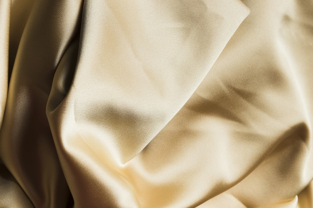 Silk fabric material for home decoration top view