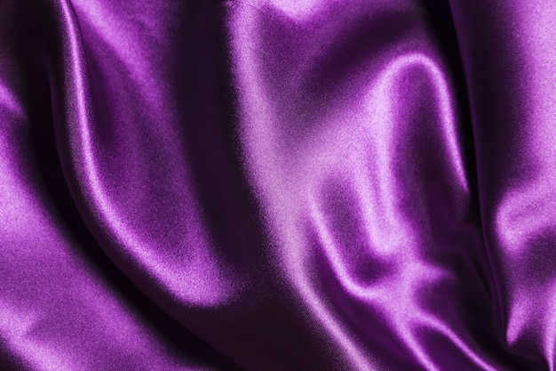 Silk fabric purple material for home decoration