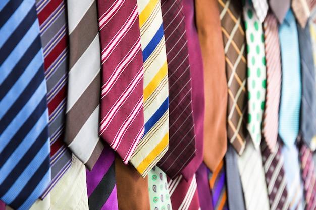 Silk tie collection, fabric textile on sri lanka