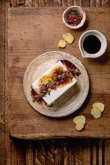 絹豆腐チーズ