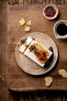 Шелковый сыр тофу