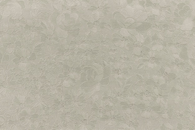 Silver floral ornament brocade textile pattern.gold background texture. element of design.