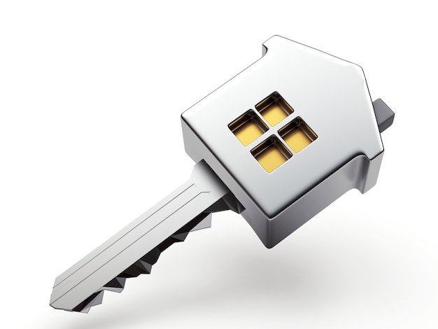 Silver house shape key