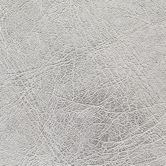 Silver leather texture background in square ratio