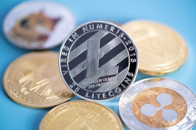 Группа silver litecoin ltc включена в криптовалютную монету