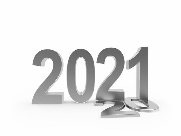 Серебряный номер 2021 стоит на цифрах 20