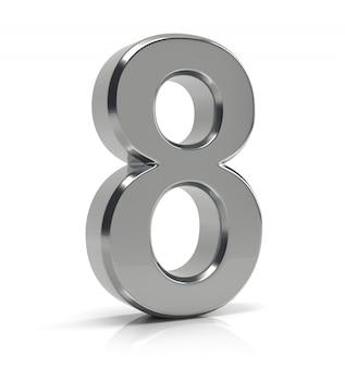 실버 번호 8