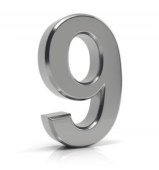Silver number 9