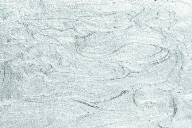Silver oil paint brushstroke textured background