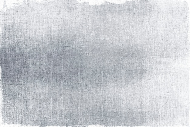 Silver painted on a fabric textured background