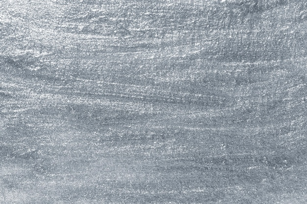Серебристая металлическая краска на поверхности
