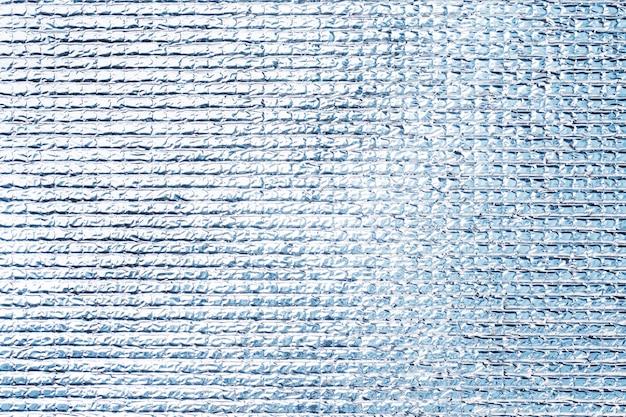 Silvery polyethylene texture grey shiny surface