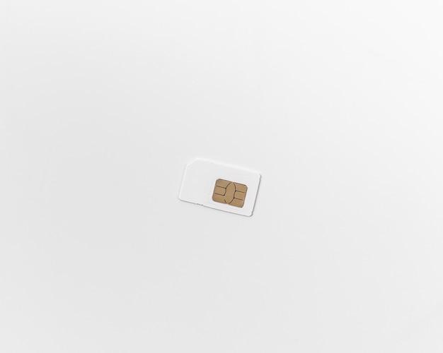 흰색 바탕에 sim 카드입니다. 비문에 대 한 장소입니다. 이동통신과 무선 3g, 4g 인터넷의 개념