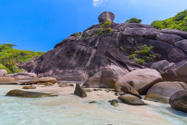 Similan island at andaman sea , phuket, thailand