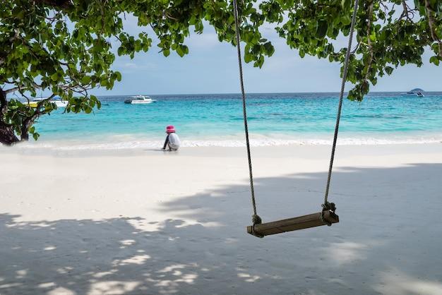시밀란 제도, 팡아 지방 태국 남부의 아름다운 바다,