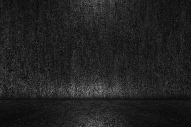 Simple black realistic gradient texture abstract background
