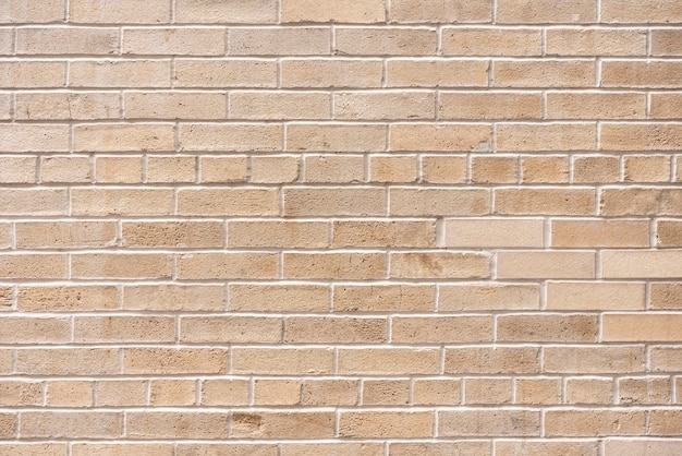 Simple brick wall background