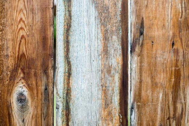 デザインのためのシンプルなエコウッドデスクテクスチャ、グランジ表面素朴な木製テーブルトップビュー