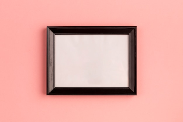Simple empty photo frame