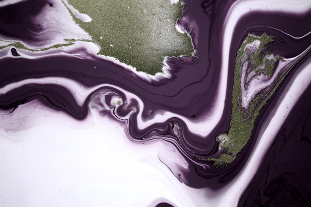 Simple marble abstract background liquid ink pattern