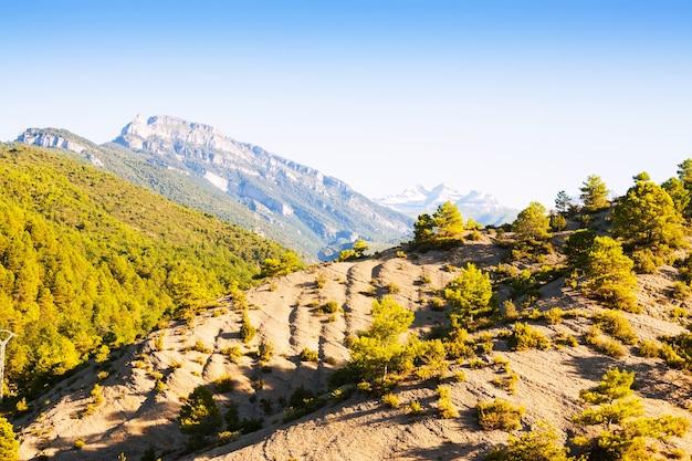 Простые горы пиренеев